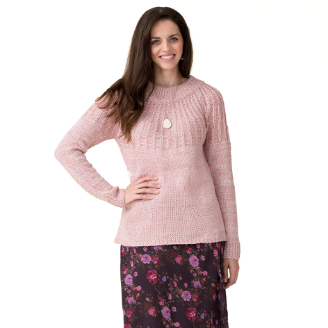 Rosebud Tie Back Sweater