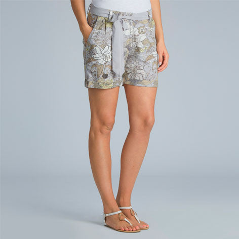 Botanical Linen Mix Shorts