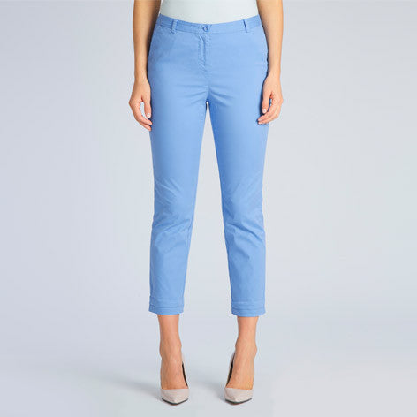 Roll Up Ankle Grazer Trousers
