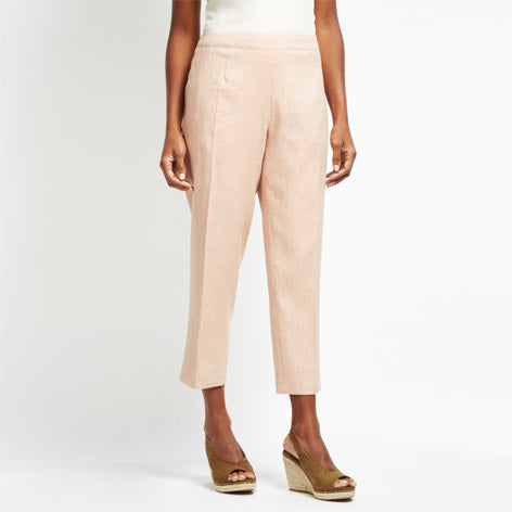 Cross Dye Linen Trousers