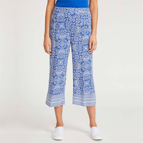 Kaleidoscope Cropped Pants