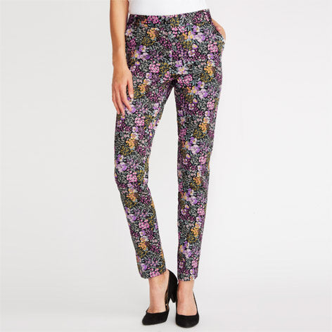 Printed Cafe Trousers