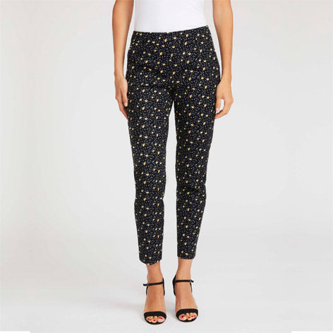 Marigold Print Cafe Trousers
