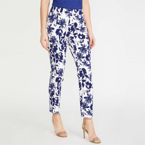 Floral Print Cafe Trousers