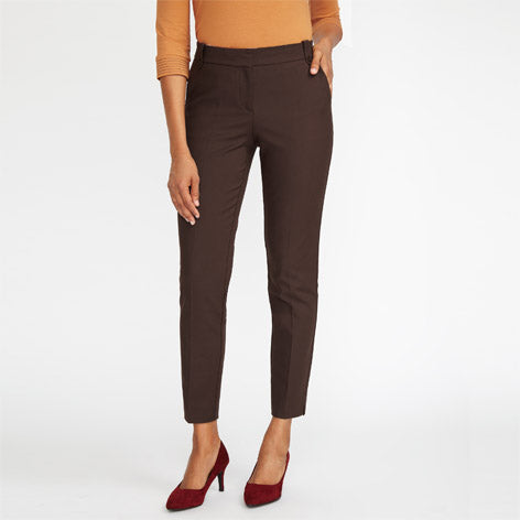 Brown Smart Cafe Trousers