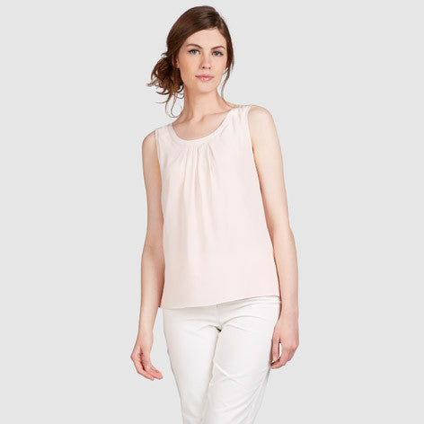 Silk Front Jersey Top
