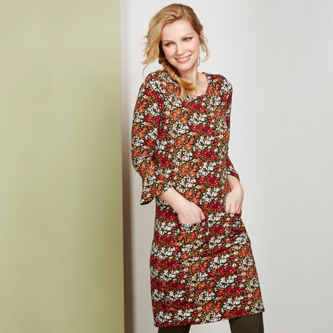 Floral Meadow Print Tunic