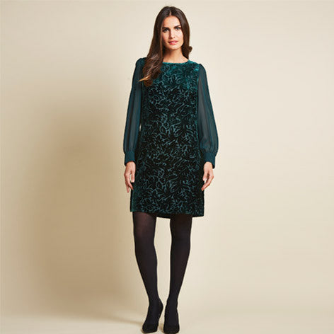 Devore Velvet Tunic Dress