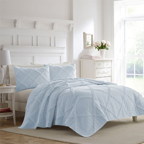 Maisy Blue Quilt Set
