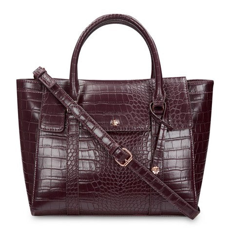 Crocodile Cross Body Tote Bag
