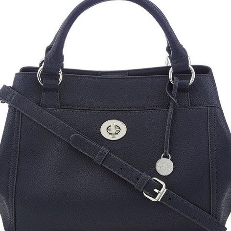 Navy Twistlock and Zip Grab Bag