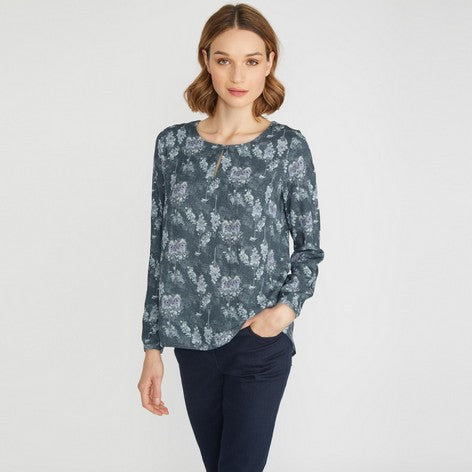 Textured Trees Blouse