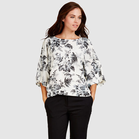 Floral Botanical Bloom Blouse