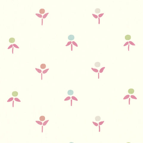 Mini Floral Drapery Fabric