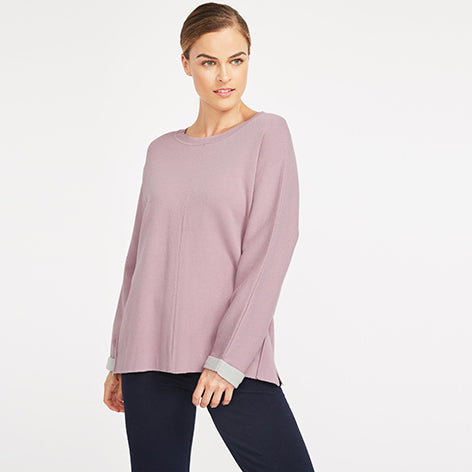 Double Faced Jersey Knit Top