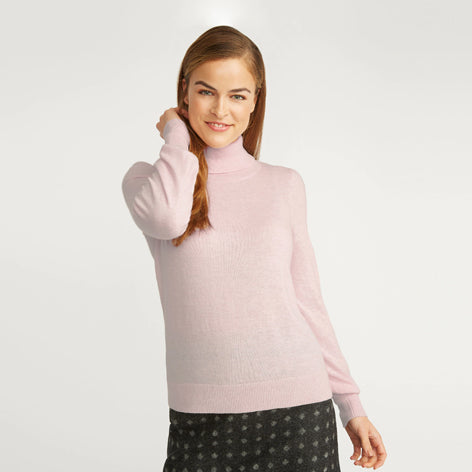 Camellia Roll Neck Sweater