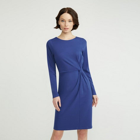Blue Side Knot Dress