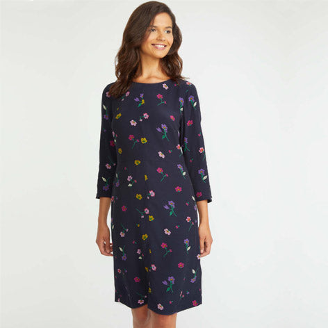 Long Sleeve Pansy Dress