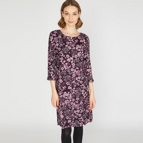 Country Floral Twill Dress