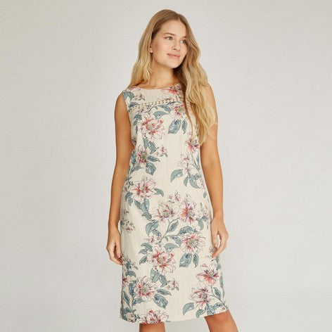 Lily Floral Print Shift Dress