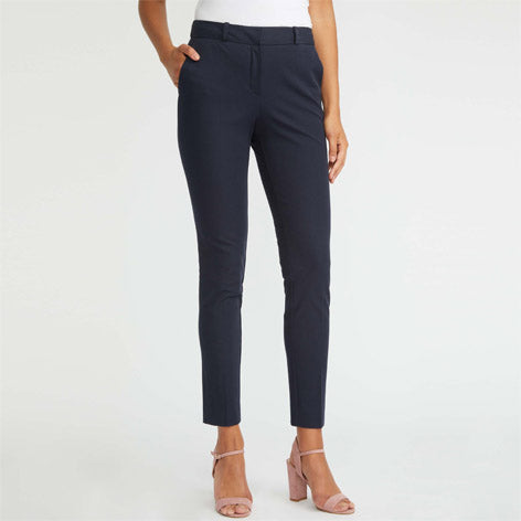 Zipped Bi-Stretch Trousers