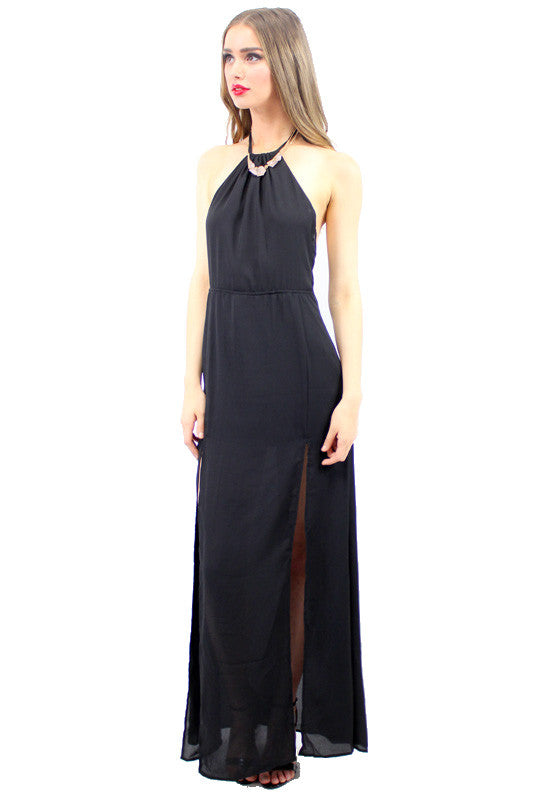 LONI Maxi Dress Black