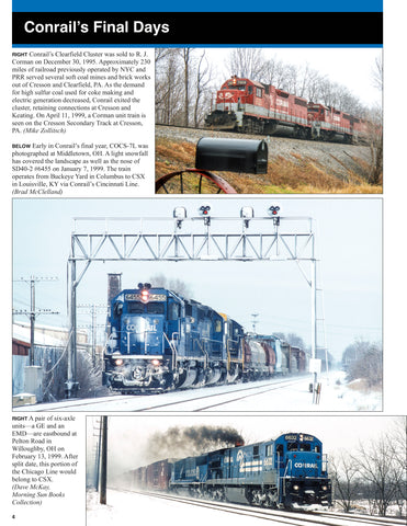 Conrail in the Norfolk Southern / CSX Era Volume 1: 1999-2004<br><i><small>September 1, 2020 Release</small></i>