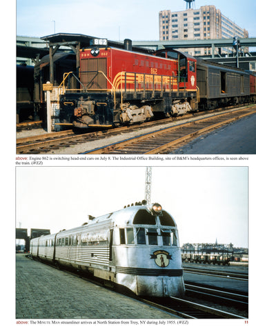 Boston and Maine In Color Volume 4: Through the Years<br><i><small>January 5, 2021 Release</small></i>