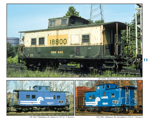 Conrail Caboose Color Portfolio<br><i><small>March 1, 2020 Release</small></i>