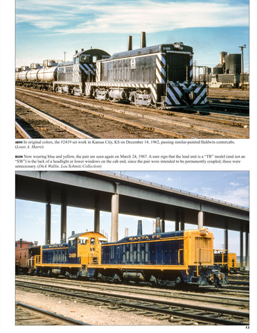 Santa Fe Power In Color Volume 3: Electro-Motive Switchers and Four-Axle Hood Units<br><i><small>March 1, 2020 Release</small></i>