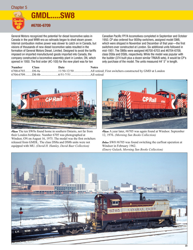 Canadian Pacific Power In Color Volume 1: Switchers<br><i><small>April 1, 2021 Release</small></i>