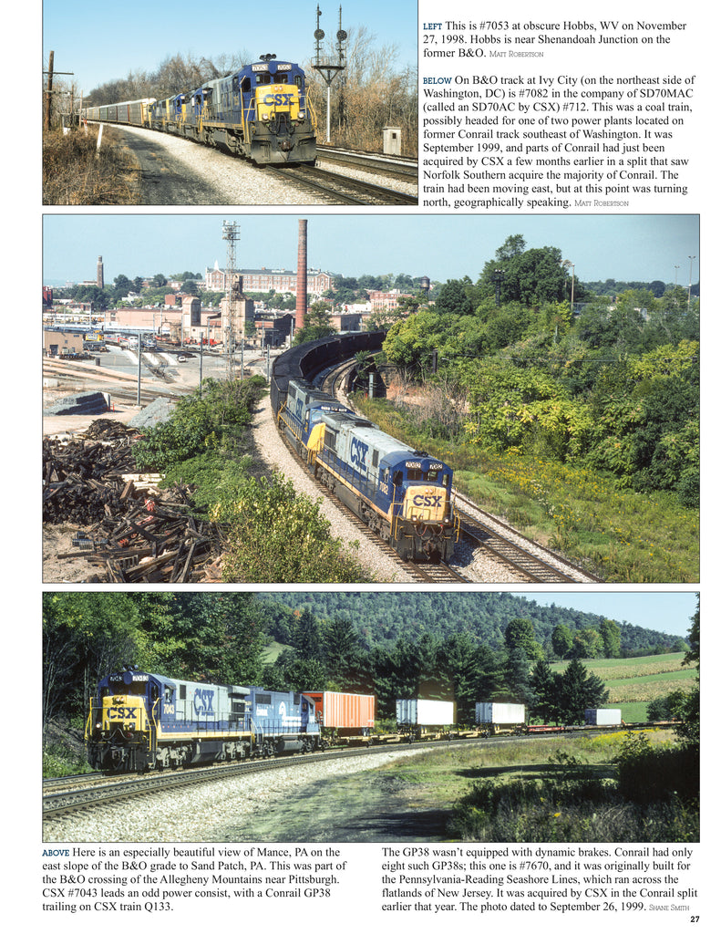 CSX Power In Color V4: 6 Axle GE's &