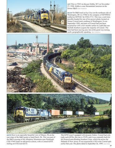 CSX Power In Color V4: 6 Axle GE's & More