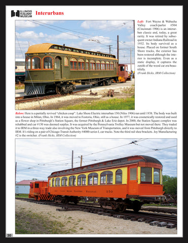 Illinois Railway Museum In Color<br><i><small>May 1, 2021 Release</small></i>