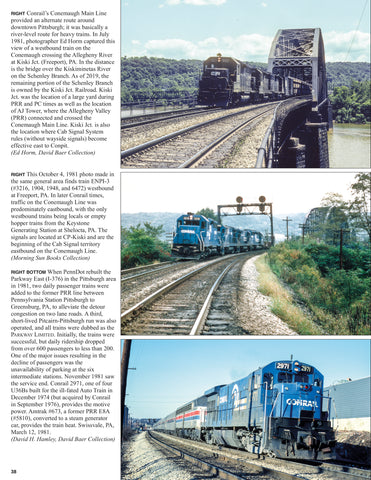 Penn Central in the Conrail Era Volume 2: 1980-1984<br><i><small>May 1, 2020 Release</small></i>
