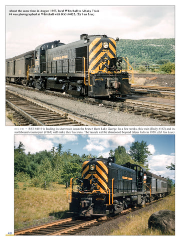 Delaware & Hudson Railway Through Passenger Service In Color<br><i><small>June 1, 2019 Release</small></i>