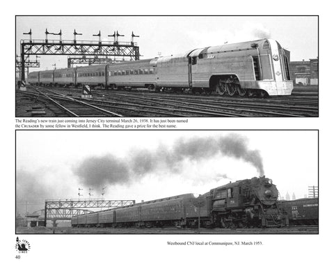 Railfanning the Northeast 1934-1954 with Richard T. Loane Volume 2: CNJ, RDG, B&O, PRSL, PRR, Raritan River (Softcover)<br><i><small>March 1, 2019 Release</small></i>
