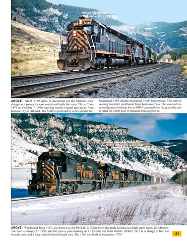 Rio Grande In Color Volume 6: Tennessee Pass