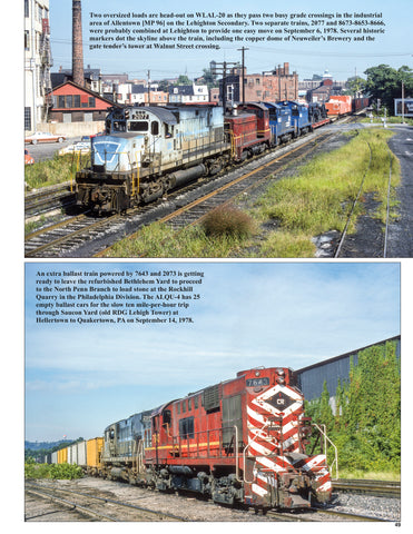 Lehigh Valley in the Conrail Era Volume 1: 1976-1986<br><i><small>October 1, 2020 Release</small></i>