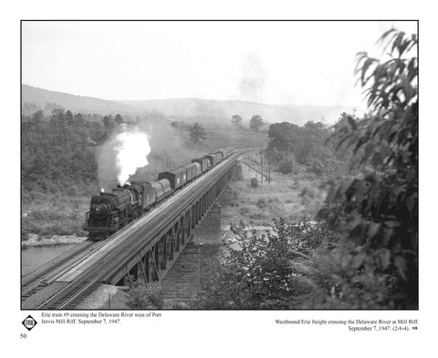 Railfanning the Northeast 1934-1954 with Richard T. Loane Volume 3: Erie, M&E, NYS&W, W-B&E, M&U, L&NE, NYO&W (Softcover)<br><i><small>Available July 1, 2019</small></i>