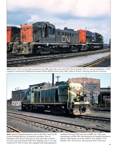 Canadian National Power In Color Volume 2: First Generation MLW and CLC Roadswitchers<br><i><small>February 1, 2021 Release</small></i>