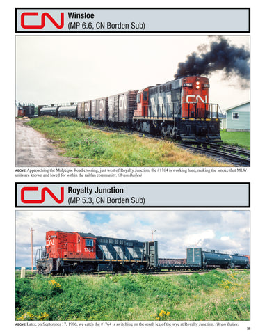 Canadian National Atlantic Region In Color<br><i><small>June 1, 2020 Release</small></i>