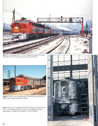 Santa Fe Power In Color V1: Alco, Baldwin, & FM (incl. misc. Builders & Slugs)