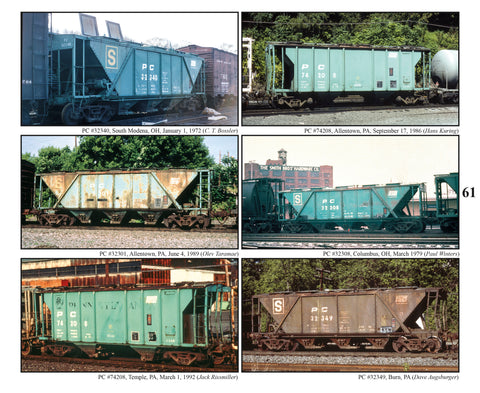Penn Central Maintenance of Way Equipment Color Portfolio (Softcover)<br><i><small>September 1, 2019 Release</small></i>
