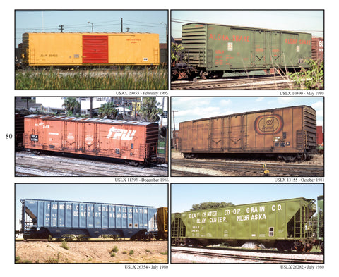 Freight Car Color Portfolio, Book #6: NS-YKR, The Work of Emery Gulash (Softcover)<br><i><small>August 1, 2019 Release</small></i>