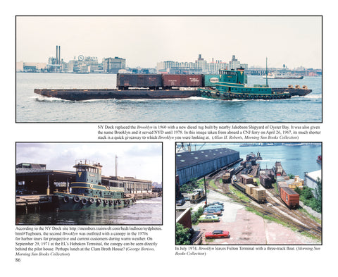 Waterfront Railroads of New York Harbor Volume 2 (Softcover)