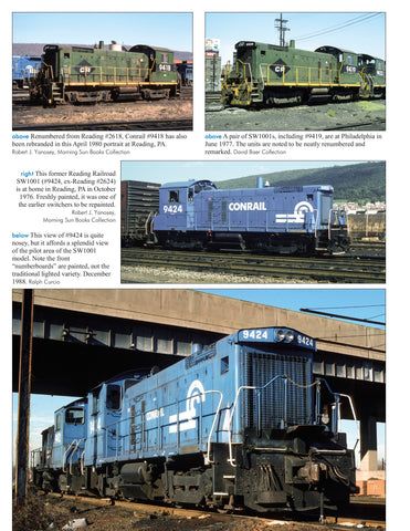 Conrail Power In Color V5: 8308-9999