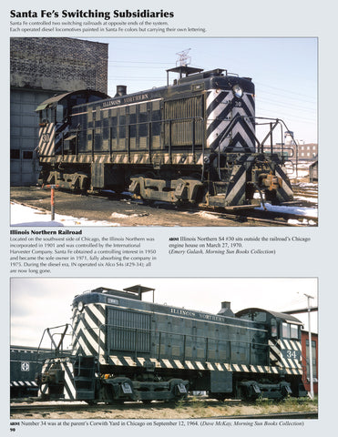 Santa Fe Power In Color V1: Alco, Baldwin, & FM (incl. misc. Builders & Slugs)<br><i><small>May 1, 2019 Release</small></i>