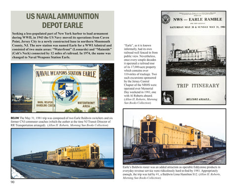 Waterfront Railroads of New York Harbor Volume 3 (Softcover)<br><i><small>March 1, 2021 Release</small></i>