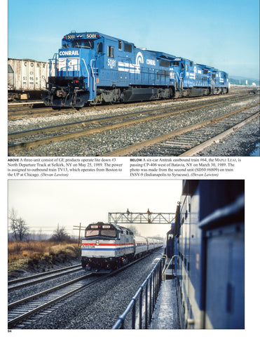 "Penn Central in the Conrail Era Volume 3: 1985-1989<br><i><small>November 15, 2020 Release</small></i><br><span style=""color:#0D5901;""><i>Holiday Release!</i></span>"